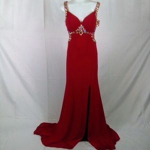 Red prom/ homecoming dress
